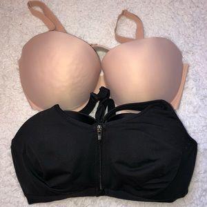 Victoria's Secret Sport Bundle Of 2 Bras